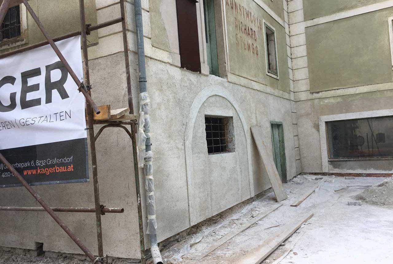 Bauarbeiten Vorau