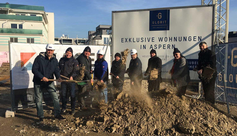 Bau Wohnhaus Wien