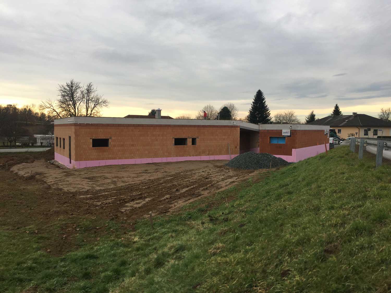 Rohbau Einfamilienhaus