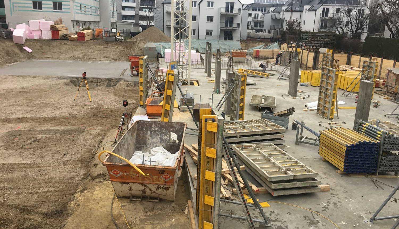 Bau Wohngebäude