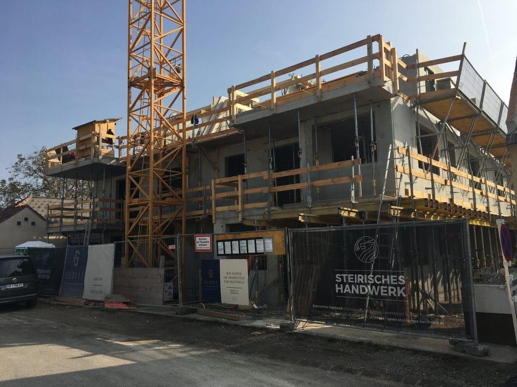 Baubeginn Wohnhaus 1220 Wien