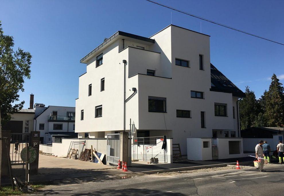 Moderner Wohnkomplex in Wien