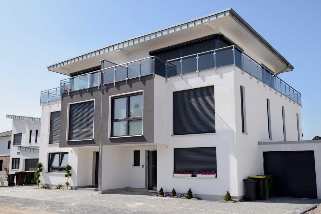 Modernes Doppelhaus Wien