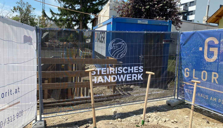 Baustart für 8 Wohneinheiten an der Alten Donau