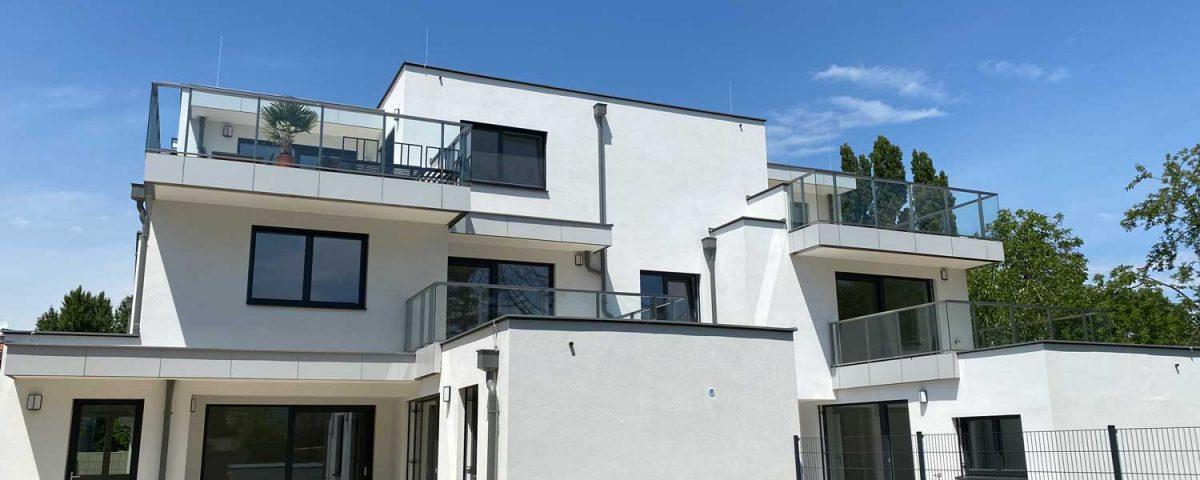 Wohnungen an der Alten Donau