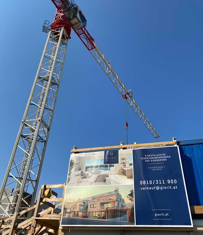 Bau Eigentumswohnung Alte Donau