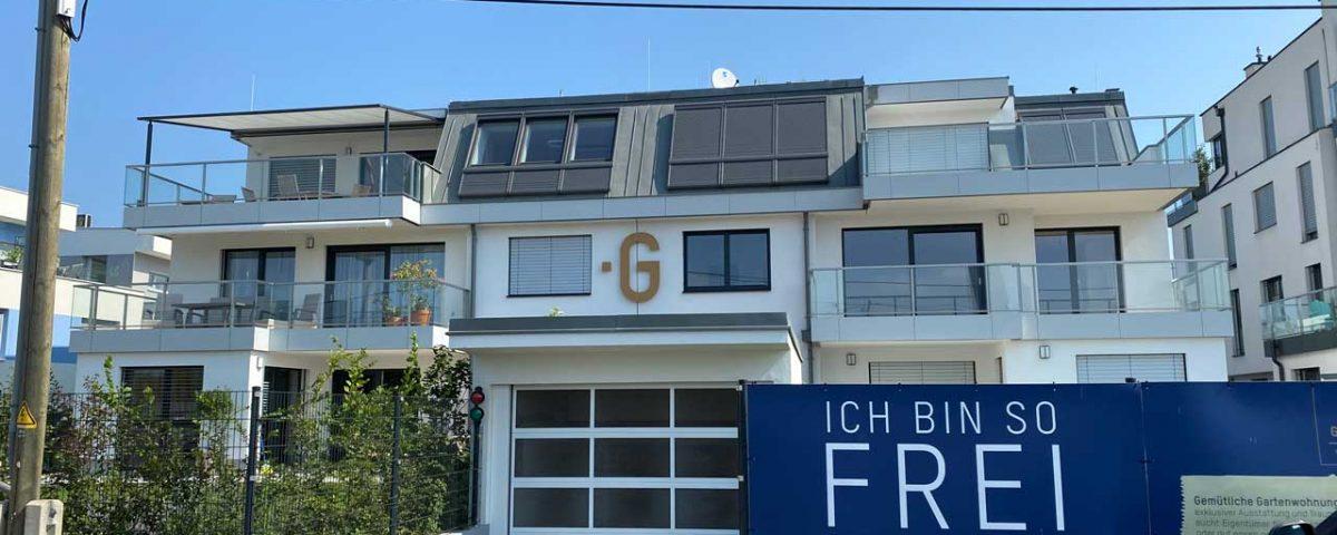 Fertigstellung Wohnhausanlage obere Alte Donau