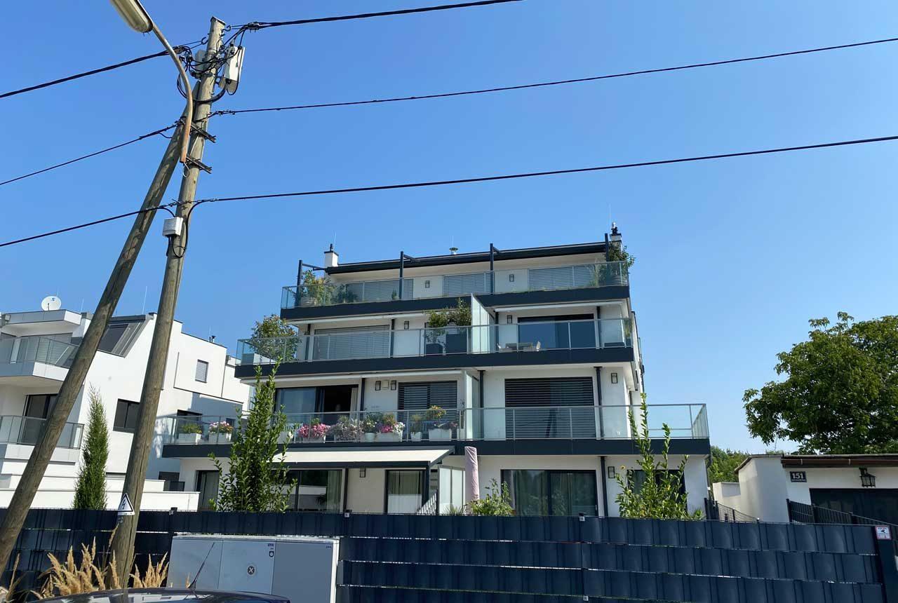 Wohnhaus an der Alten Donau 149