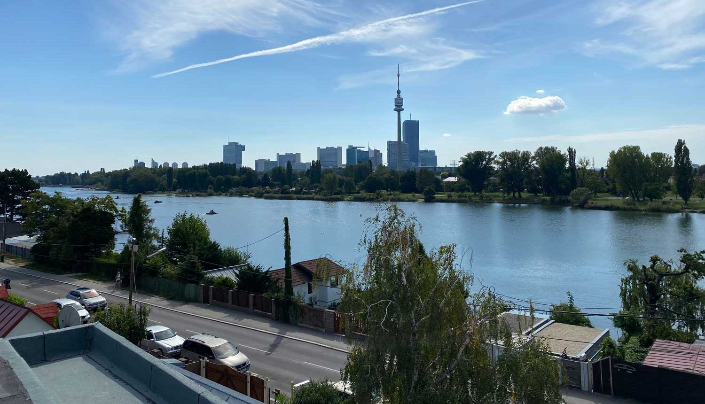 Wien Wohnung Ausblick