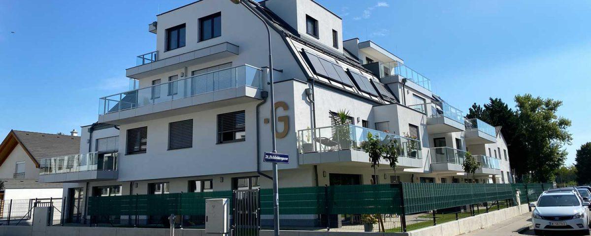 Wien Roggegasse Wohnbau