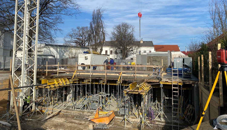 Bauprojekt Benjowskigasse Wien