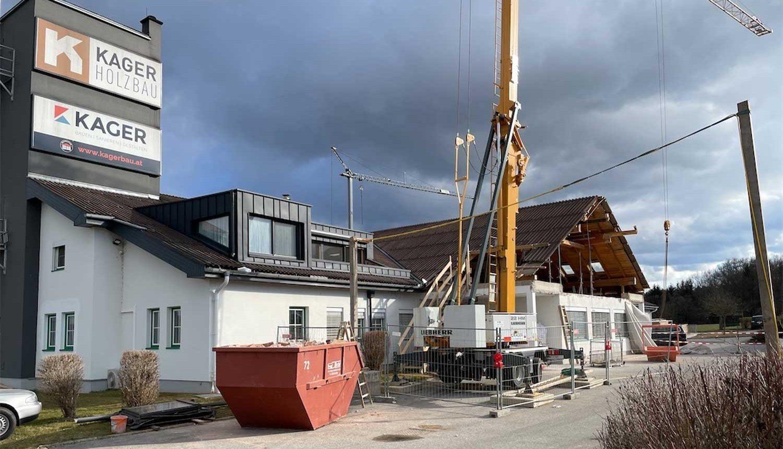 Baustelle Kagerbau