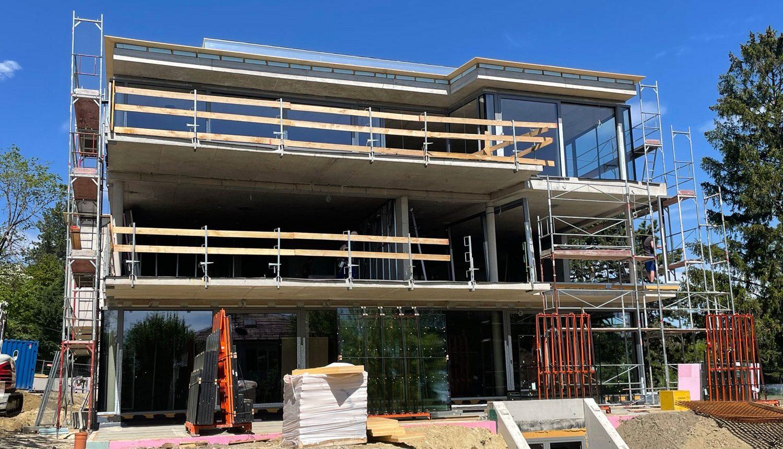 Wohnhausanlage Wien Baustelle