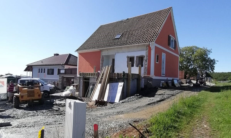 Umbau Unterrohr