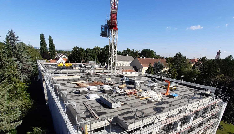 Baustelle Kaiser Franz Josef Straße