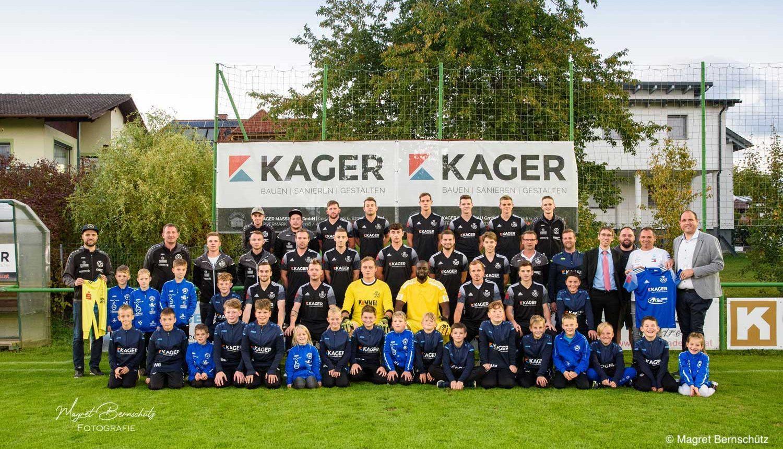 Neue Fußballdressen USV Kager Bau Grafendorf